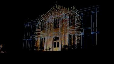 Surville video mapping itinérant Bandit Visions