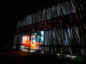 Le Breuil-En-Auge video mapping itinérant Bandit Visions